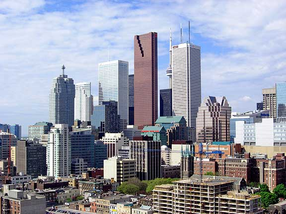 Downtown Toronto GTA Ontario